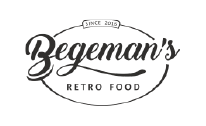 Begemans retro food logo