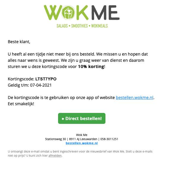 Persoonlijke email automation